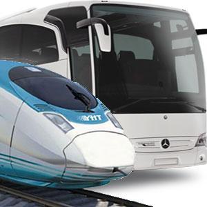 Yht Hızlı Tren Otobus Bağlantı Sefer Saat Antalya Bursa Alanya Isparta Karaman