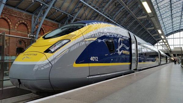 Eurostar e320 TGV fransa hızlı tren