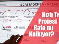 Hızlı Tren Projesi Rafa mi Kalkıyor Rusya