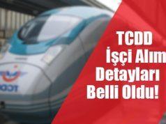 TCDD İşçi Alımı Şartları Belli Oldu